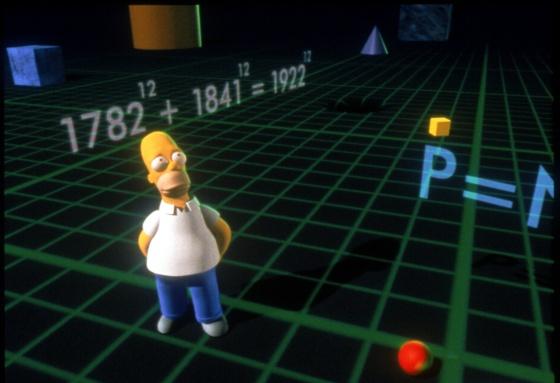Los 10 Mejores Momentos Matematicos De Los Simpson Ciencia El Pais