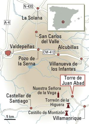 The area around Torre de Juan Abad may be rich with rare earth minerals.