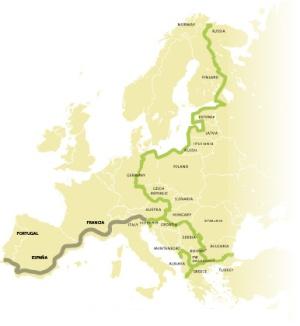 Proyecto 'Cinturón verde europeo'.