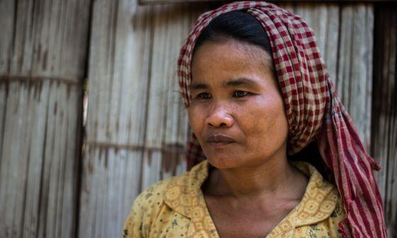 Violencia de género en Camboya - Ey fue gritada diariamente por su marido y no denunció los abusos. ANA SALVÁ