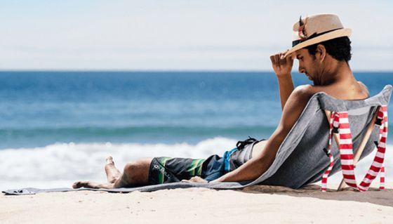 Resultado de imagen de playa verano tumbado