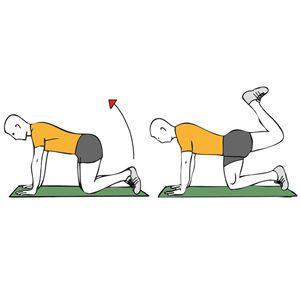 extensiones de cadera en maquina