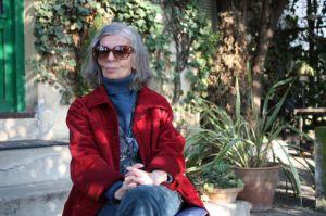 Writer Marta Osorio at her home in Granada in 2012.