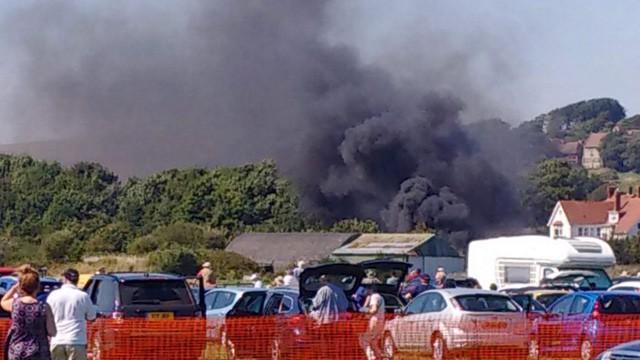 Siete muertos en accidente durante una exhibición aérea en Inglaterra