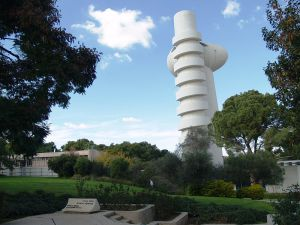 O acelerador de partículas do Instituto Weizmann, em Rehovot, Israel.