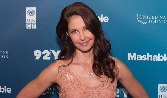 Ashley Judd en el Social Good Summit, en Nueva York.