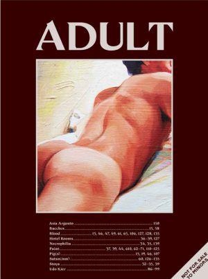 Portada de 'Adult', una revista erótica