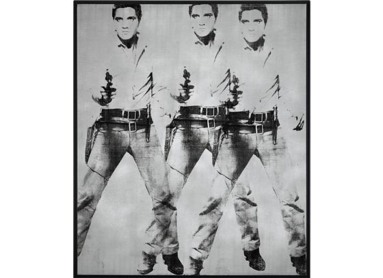 Andy Warhol, 'Triple Elvis', 1963.