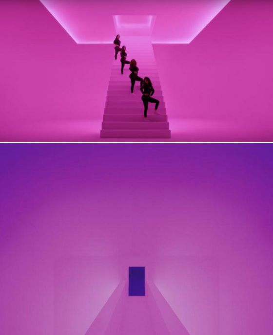 magen del video 'Hotline Bling' de Drake.  James Turrel, 'Amrta', 2011