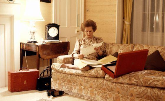 Margaret Thatcher Una Secreta Amante De La Moda Estilo