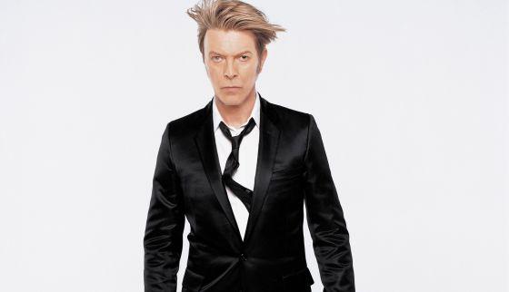 El músico David Bowie.