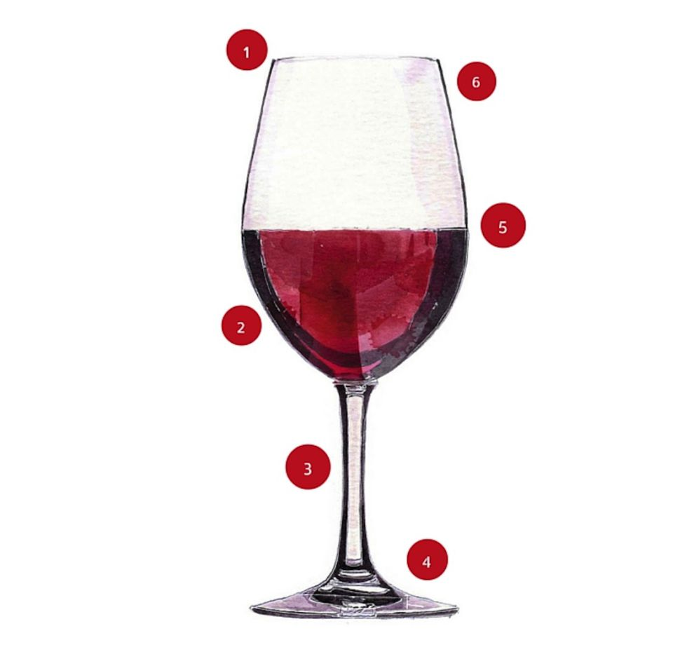 hasta d nde se debe llenar radiograf a de una copa de vino perfecta icon el pa s. Black Bedroom Furniture Sets. Home Design Ideas