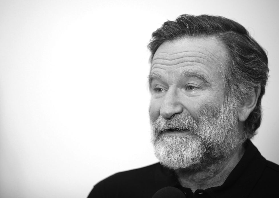 El actor Robin Williams durante un evento en 2012.