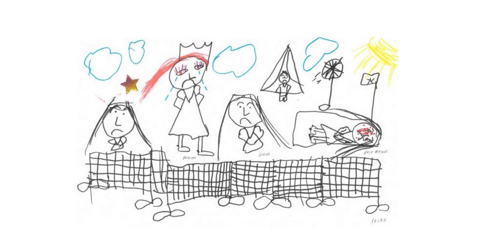 Pinto Dibujos Niños Del Planeta Para Colorear: Esto Es Nauru. Todos Están Tristes
