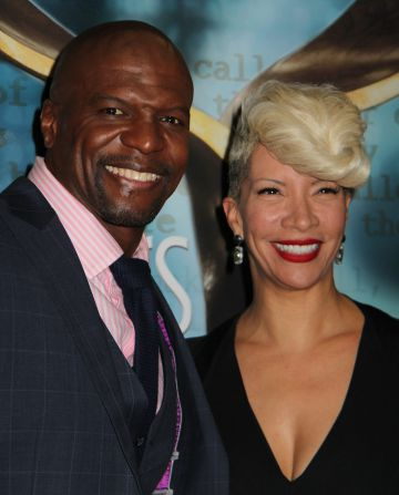 Terry Crews y su mujer, Rebecca King.