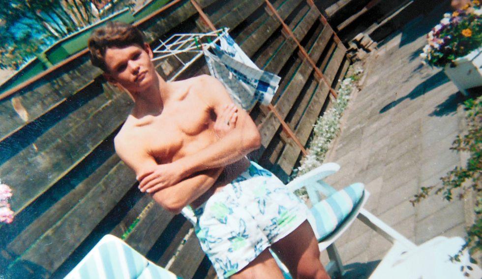 Imágenes de su infancia, que pasó en un tranquilo pueblo holandés.