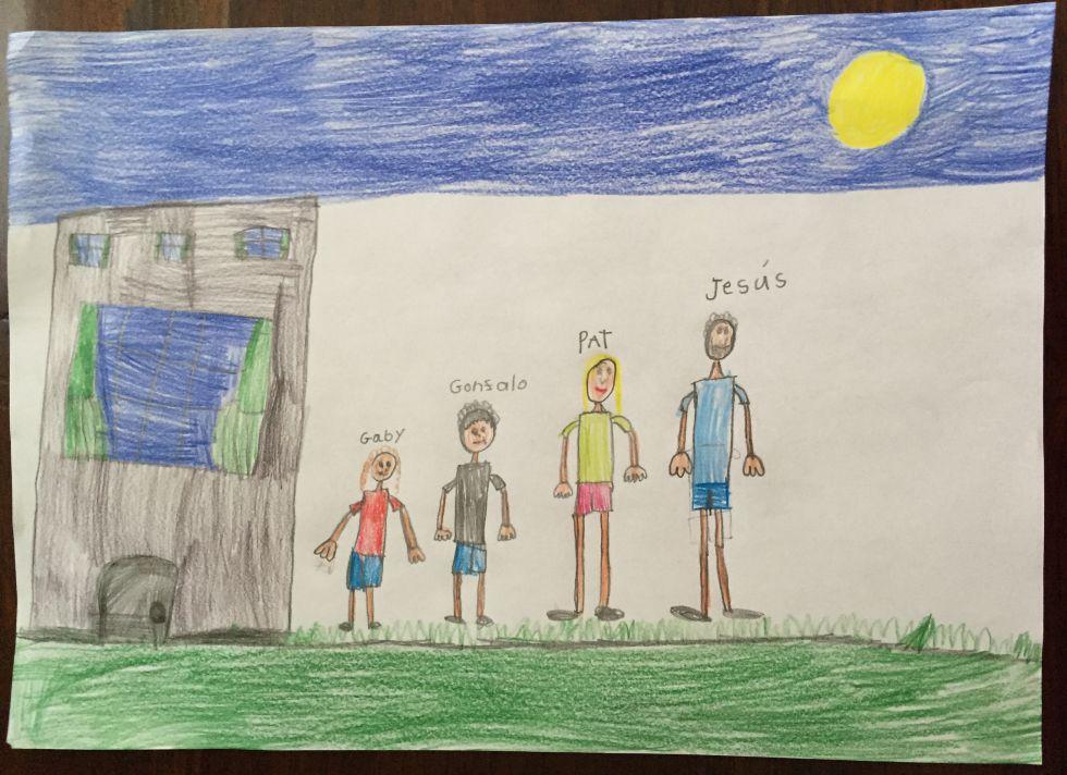 Día del Padre: ¿Su hijo le ha dibujado con una cabeza enana ...