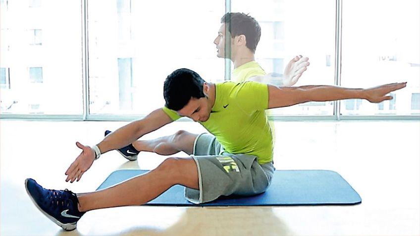 Vídeo| El reto de los 4 minutos: 6 ejercicios para que no te quejes más de la espalda