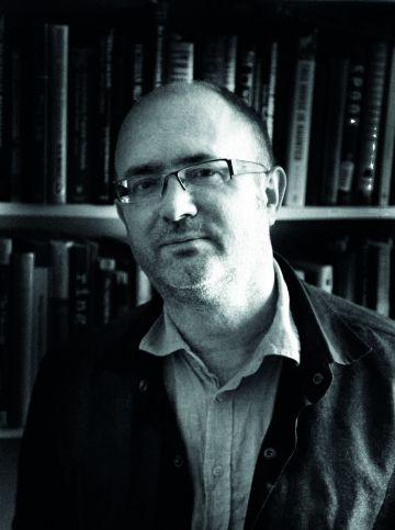 Roger Clarke, autor del libro y experto en fantasmas