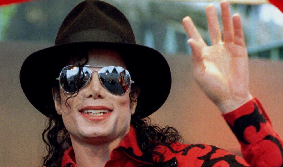 Michael Jackson durante una de sus actuaciones.