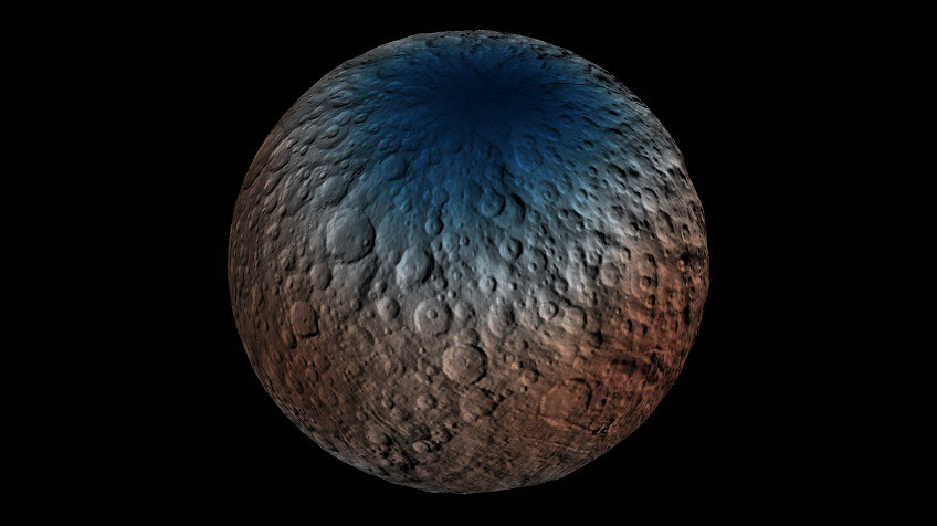 La NASA desvela nuevas imágenes de Ceres