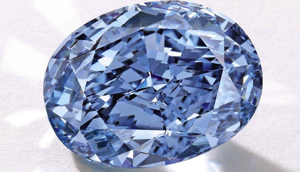 Un Diamante Azul Por 28 Millones De Euros