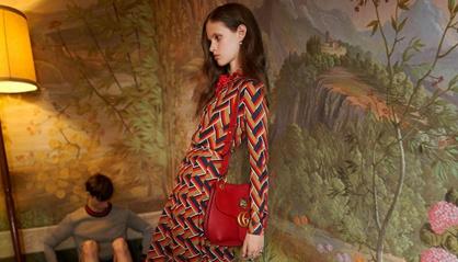 La modelo de Gucci que ha provocado la prohibición del anuncio por ASA. a523c6714b8a