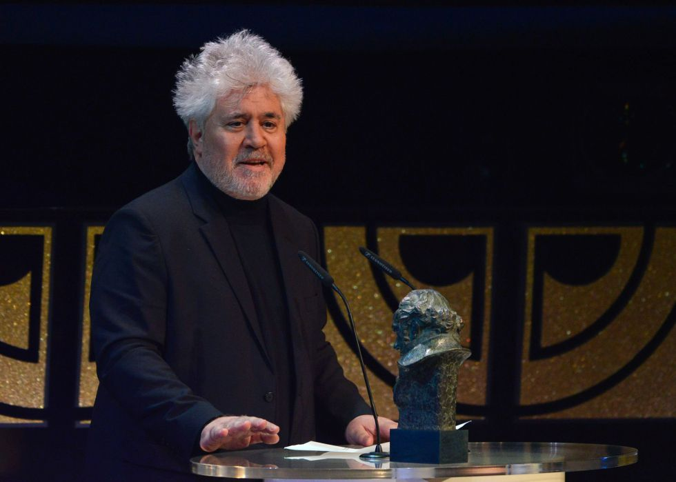 Spanish film director Pedro Almodóvar in a file photo from 2015.