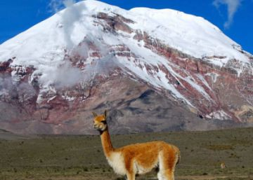 El volcán Chimborazo le quita un récord al Everest