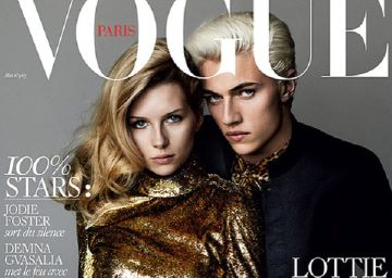 Lottie Moss, hermana pequeña de Kate, portada de 'Vogue Paris'