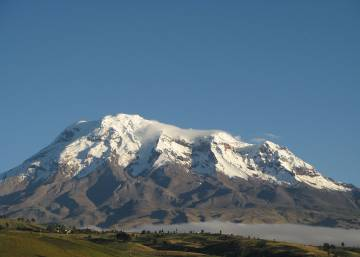 El Chimborazo le quita un récord al Everest