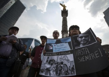 Killing of Rubén Espinosa leaves Mexican journalists in fear