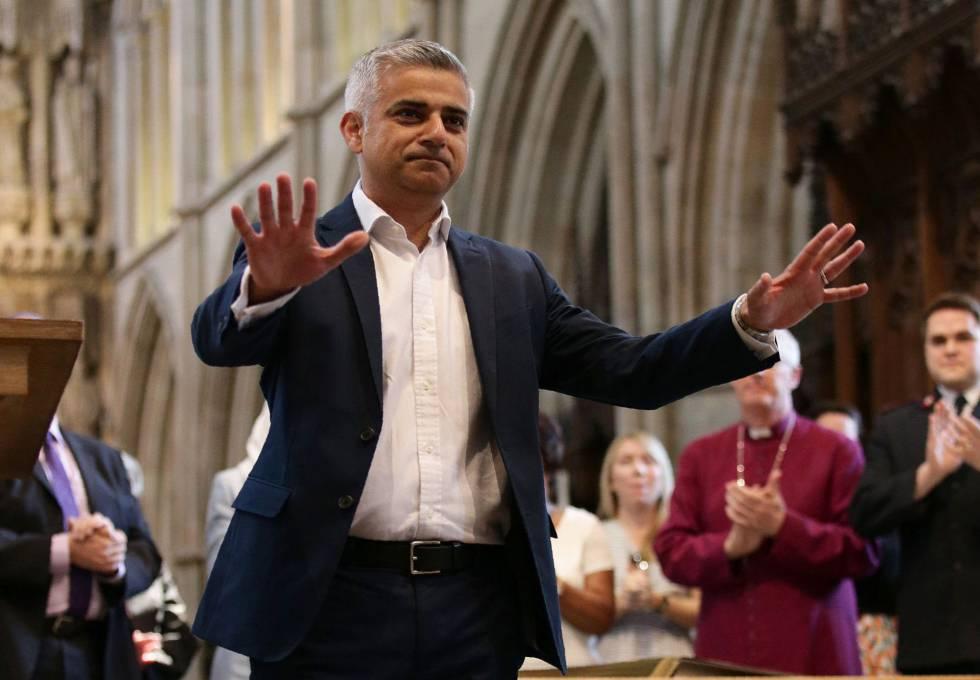 El nuevo alcalde de Londres, Sadiq Khan.
