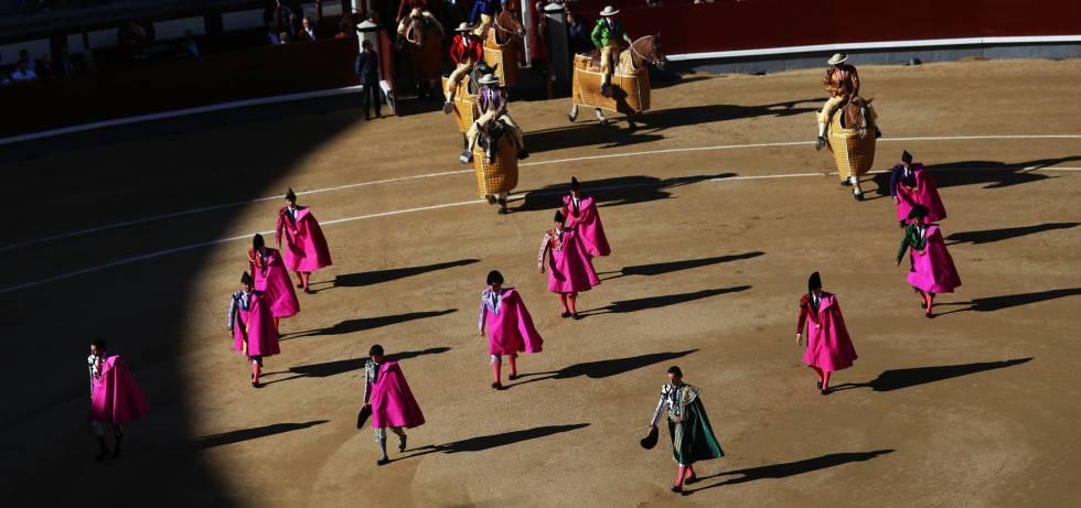 Corrida de toros en Las Ventas.