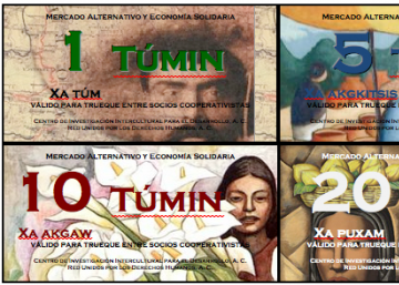 Túmin, moneda alternativa en México
