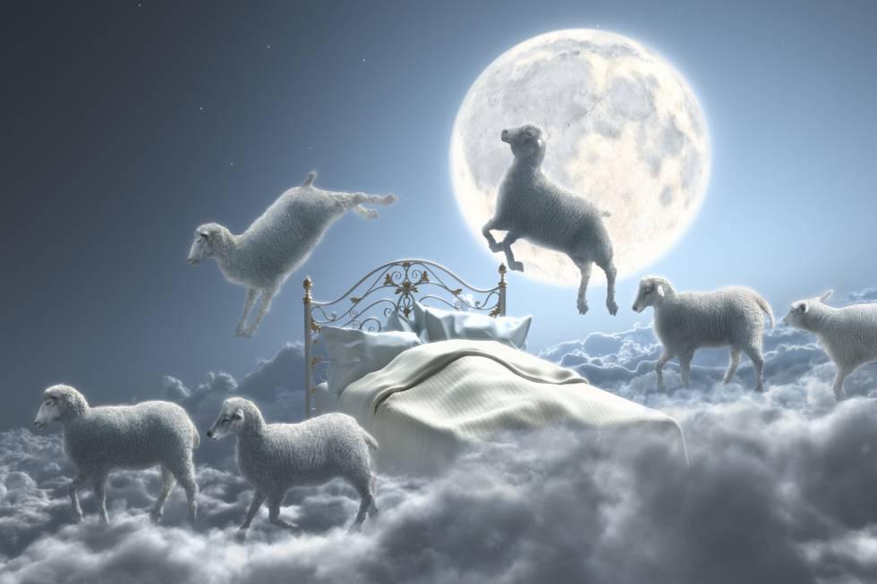 Contar ovejas es un conocido ejercicio mental contra el insomnio. rn rn