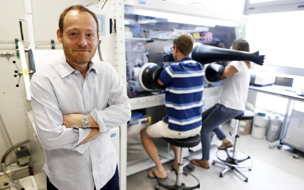 Luis Manuel Rubio, en el Centro de Biotecnología y Genómica de Plantas.