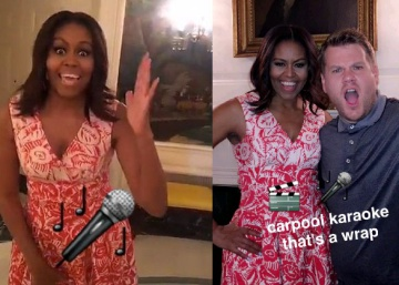Michelle Obama se une à moda do Snapchat
