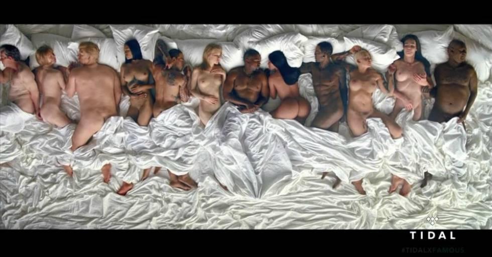 Captura del vídeoclip 'Famous'
