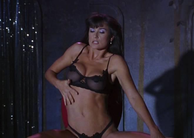 Striptease nude video clip demi moore