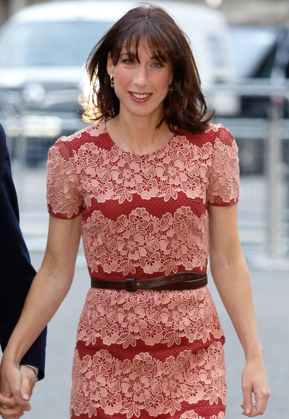 Samantha Cameron lanzará una línea de ropa   Estilo   EL PAÍS