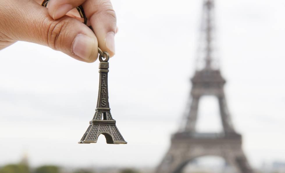 Llavero de la Torre Eiffel.