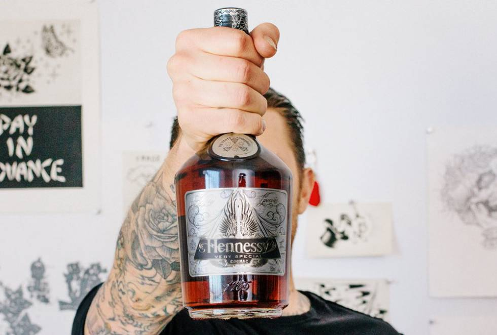 Coñac Hennessy.