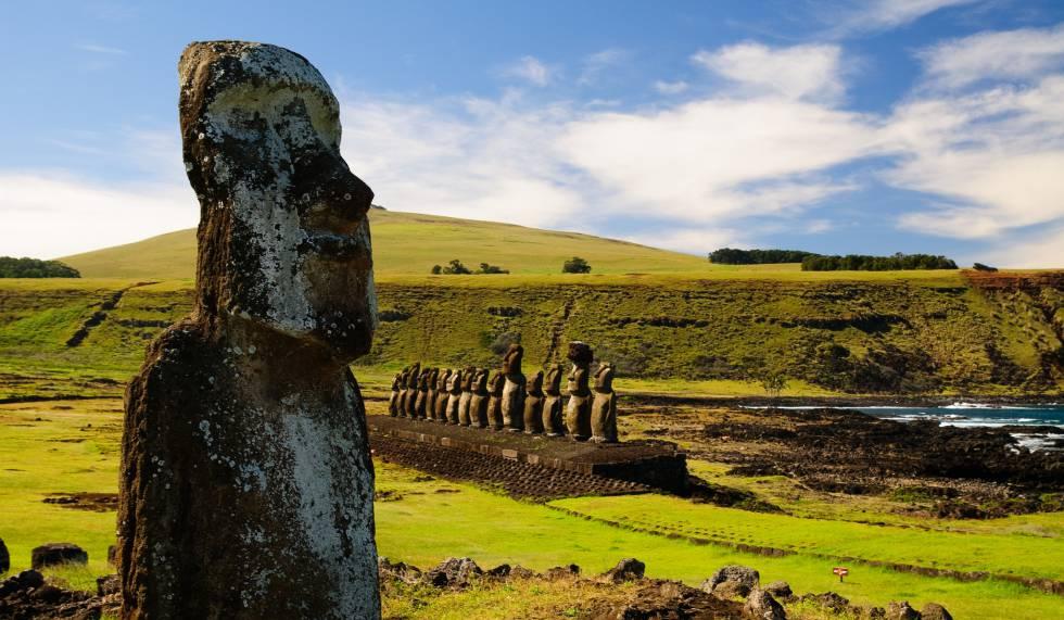 Rapa Nui, Patrimonio de la Humanidad en Chile.