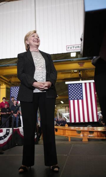 Clinton, o 11 de agosto