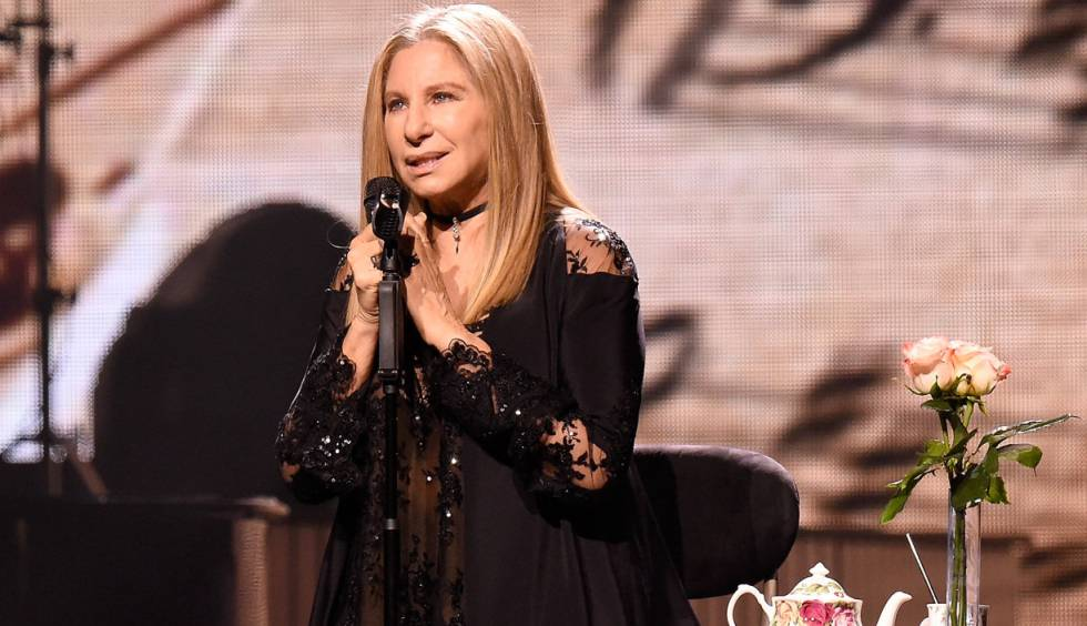 Barbra Streisand, en el Barclays Center de Brooklyn.