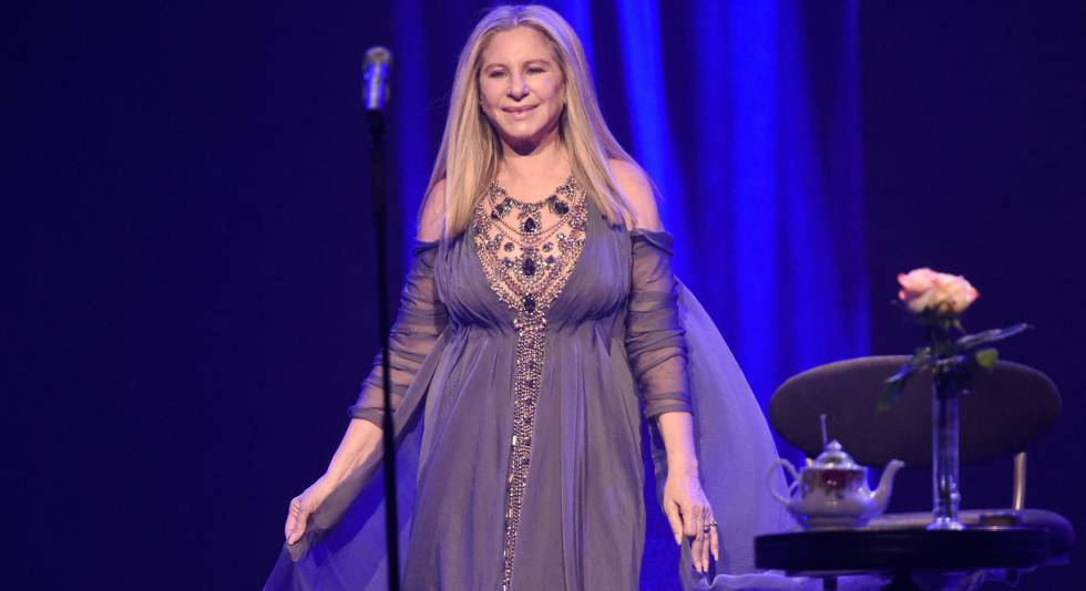 Barbra Streisand. en el Barclays Center de Brooklyn.