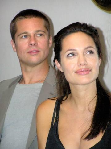 Se conocieron en 2003, pero las primeras imágenes de Brad Pitt y Angelina Jolie como pareja no se empezaron a hacer públicas hasta 2006.