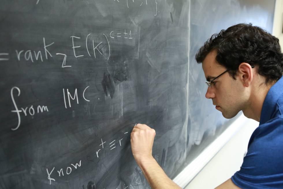 El joven que se enfrenta al problema matemático del millón de dólares    Ciencia   EL PAÍS