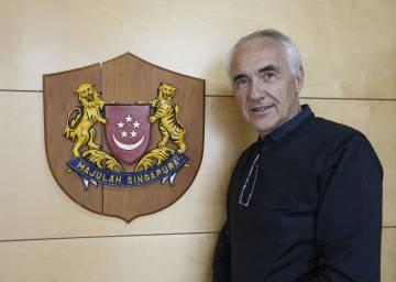 Alfonso Vegara, arquitecto, cónsul honorario de Singapur en Madrid y presidente de la Fundación Metrópoli.